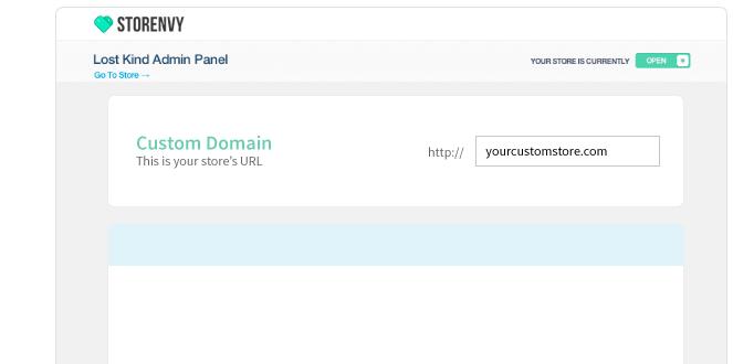 Screen custom domain
